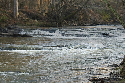 Photograph - Enhanced Peaceful River by Michael Waters