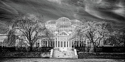 Photograph - Enid A Haupt Conservatory  by Chris Lord