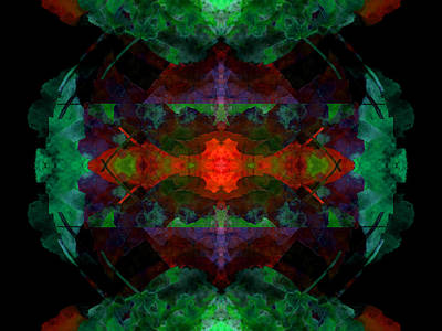 Digital Art - Enigma 7 by Lynda Lehmann