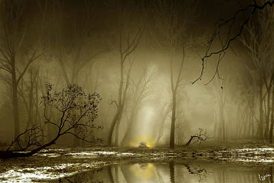 Digital Art - Enigmatic Passage by Igor Zenin