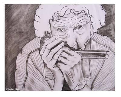 Enjoying Life Art Print by Pratik Koli