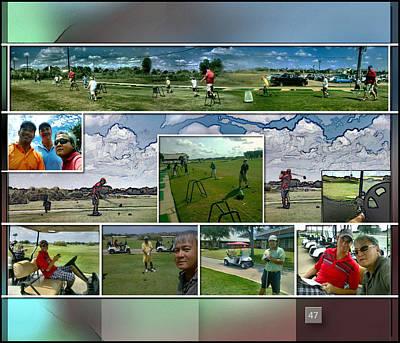 Digital Art - Enjoying Southwyck P47 by Glenn Bautista