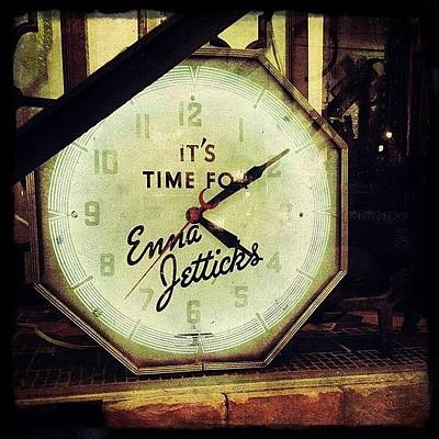 Time Photograph - Enna Jetticks Clock by Natasha Marco