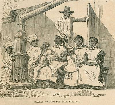Enslaved African American Women Print by Everett