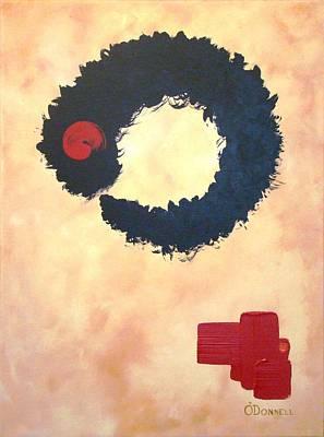 Enso Abstract Art Print