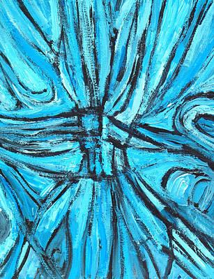 Entangled Cross Art Print by Kazuya Akimoto