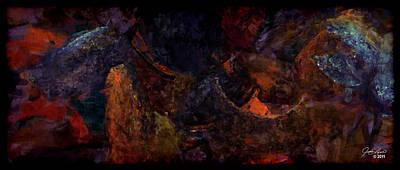 Entangled Dreams Art Print