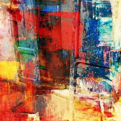 Missing Mixed Media - Enter by Fania Simon