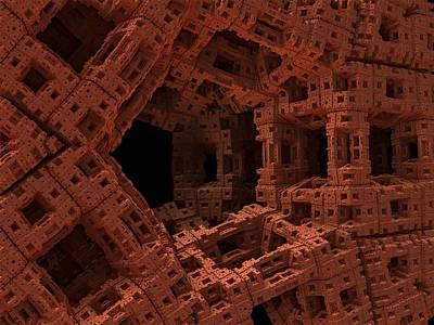 Gateway Digital Art - Enter If You Dare by Lyle Hatch