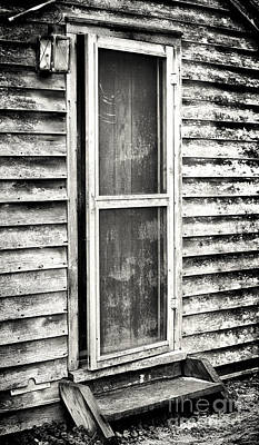 Enter Through The Back Door Art Print by John Rizzuto