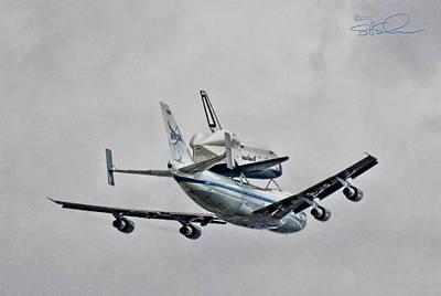 Enterprise 7 Print by S Paul Sahm