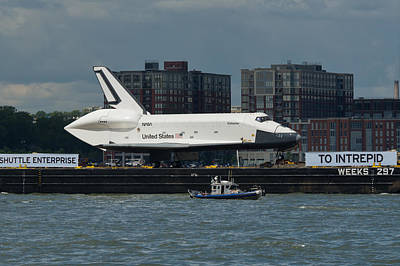 Photograph - Enterprise To Intrepid by Gary Eason