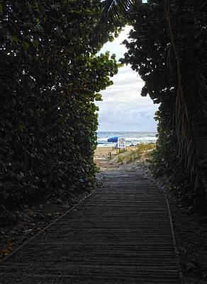 Photograph - Entrance by Pete Rems