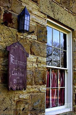 Window Signs Photograph - Entrance by The Stone Age