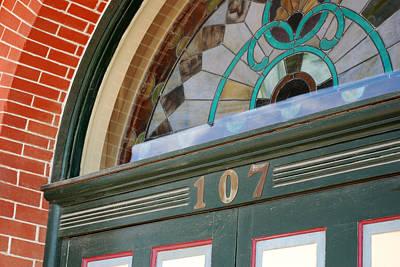 Entrance To The Ant Street Inn - Brenham Texas Art Print