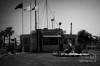 Entrance To The Port Of Larnaca Republic Of Cyprus Europe Print by Joe Fox