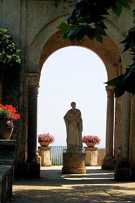 Entrance To The Terrace Of The Infinity Art Print by Vikki Bouffard
