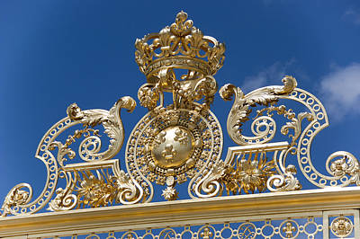 Entry To Palace Of Versailles Art Print by Jon Berghoff