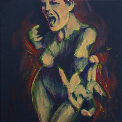 Seven Deadly Sins Painting - Envy by Dave Parker