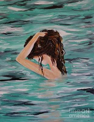 Painting - Envy Of Water by Leslie Allen