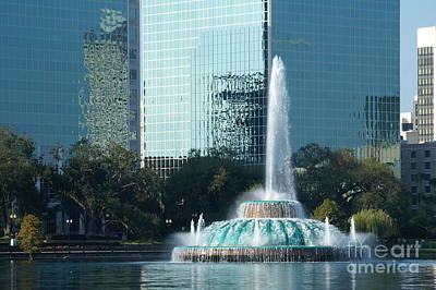 1-war Is Hell - Eola Fountain of Orlando by Jack Norton