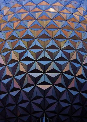 Photograph - Epcot Ball by Benjamin Yeager