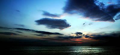 Equatorial Sunset Art Print