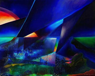 Digital Painting - Equinox by Wolfgang Schweizer