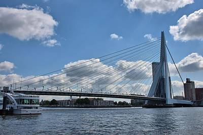 Photograph - Erasmusbrug by Steven Richman