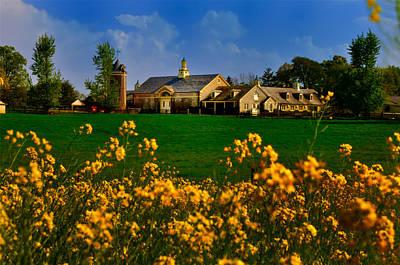 Erdenheim Farm In Flourtown Art Print by Bill Cannon