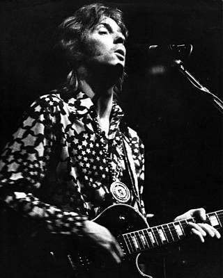 Eric Clapton Photograph - Eric Clapton 1967or 8 In Cream by Chris Walter