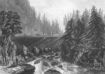 Erie Canal, C1830 Art Print