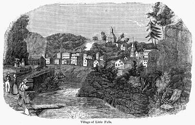 Erie Canal: Little Falls Art Print