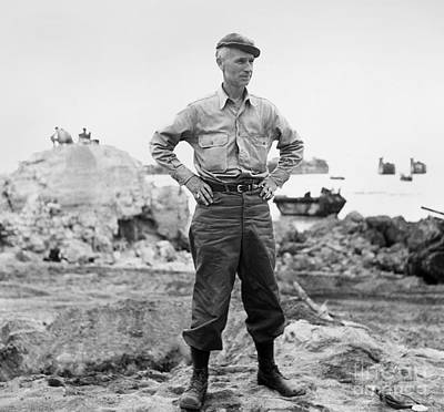 Ernie Pyle (1900-1945). American Journalist. Photograph, C1942 Print by Granger