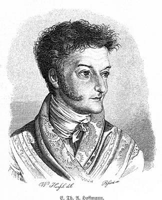 Self-portrait Photograph - Ernst Hoffmann (1776-1822) by Granger