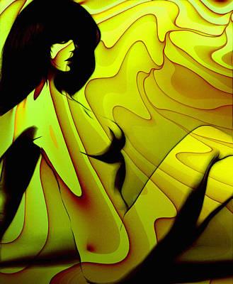 Innocence Painting - Erotic In The Seventies by Steve K