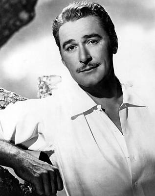 Publicity Shot Photograph - Errol Flynn, Warner Brothers, 1940s by Everett