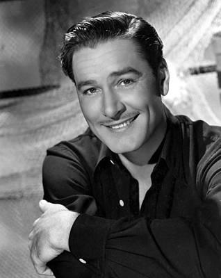 Publicity Shot Photograph - Errol Flynn, Warner Brothers, 42547 by Everett