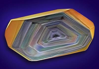 Erythritol Crystal, Sem Art Print