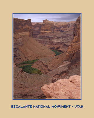 Photograph - Escalante Poster by John Farley