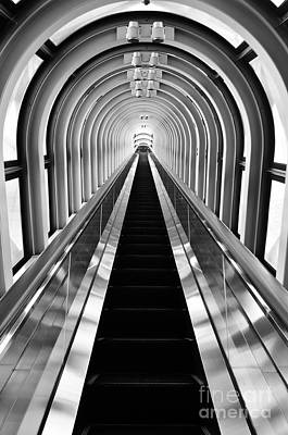 Photograph - Escalation by Dean Harte
