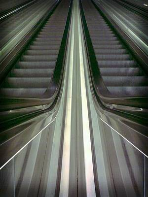 Escalator Art Print by Popiart