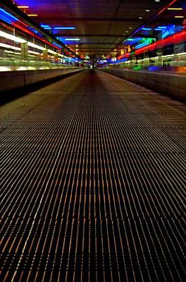 Photograph - Escalator View ... by Juergen Weiss