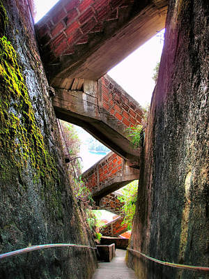 Skiphunt Photograph - Escaleras by Skip Hunt