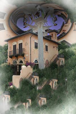 Escher's Dream Print by Nina Fosdick