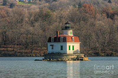 Photograph - Esopus Meadows Lighthouse I by Clarence Holmes
