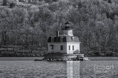Photograph - Esopus Meadows Lighthouse II by Clarence Holmes
