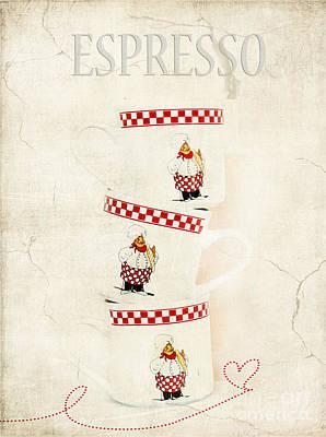 Espresso Art Print by Darren Fisher