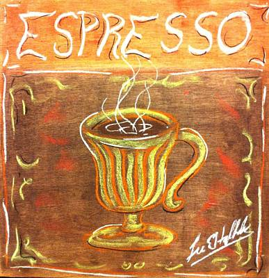 Espresso Art Print by Lee Halbrook