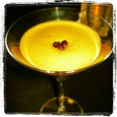 Martini Photograph - Espresso Martini Time by Lottie H